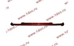 Бампер A7 красный нижний металлический узкий