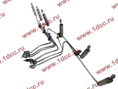 Трубки высокого давления на форсунки H3 от ТНВД H2 (переделка), комплект 6шт HOWO (ХОВО) VG1557080036 фото 1 Екатеринбург