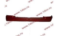 Бампер A7 красный нижний пластиковый тягач