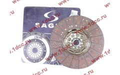 Диск сцепления ведомый 420 мм SAGES H2/H3