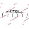 Трубки высокого давления на форсунки H3 от ТНВД H2 (переделка), комплект 6шт HOWO (ХОВО) VG1557080036 фото 2 Екатеринбург